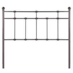 Pemberly Row Spindle Headboard in Brown