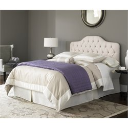 Pemberly Row Bed in Ivory