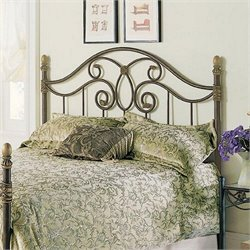 Pemberly Row Spindle Headboard in Brown 1