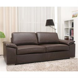 Pemberly Row Leather Sofa-MER-823
