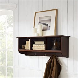 Pemberly Row Entryway Storage Shelf in Mahagony