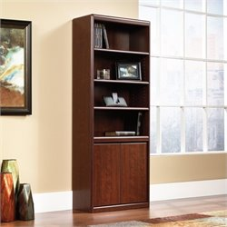 Pemberly Row Door Kit for Bookcase in Classic Cherry