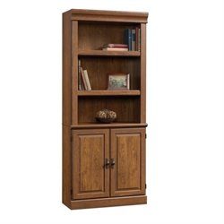 Pemberly Row 3 Shelf Bookcase in Milled Cherry