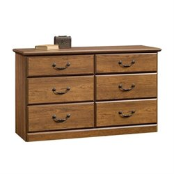Pemberly Row 6 Drawer Dresser in Milled Cherry