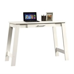 Pemberly Row Writing Desk in Soft White