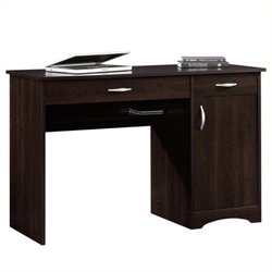 Pemberly Row Computer Desk in Cinnamon Cherry