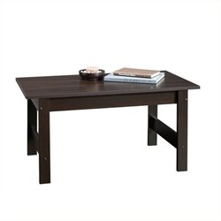 Pemberly Row Coffee Table in Cinnamon Cherry