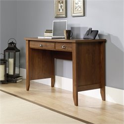 Pemberly Row Computer Desk in Oiled Oak