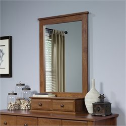 Pemberly Row Mirror in Oiled Oak
