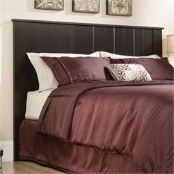 Pemberly Row Full Queen Panal Headboard in Espresso