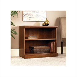 Pemberly Row 2 Shelf Bookcase in Planked Cherry