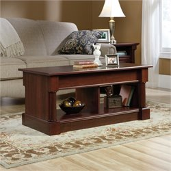 Pemberly Row Lift Top Coffee Table in Cherry