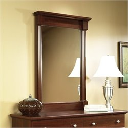Pemberly Row Mirror in Cherry