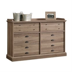 Pemberly Row 12 Drawer Dresser in Salt Oak