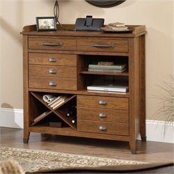 Pemberly Row Sideboard Console in Washington Cherry