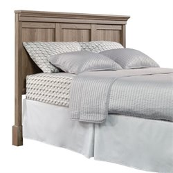 Pemberly Row Queen Panel Headboard in Salt Oak