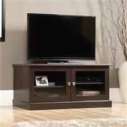 Pemberly Row TV Stand in Cinnamon Cherry