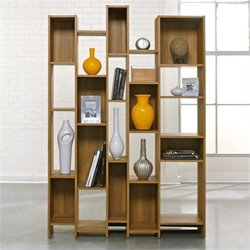 Pemberly Row Bookcase in Pale Oak