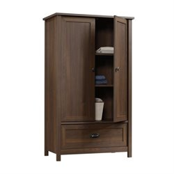 Pemberly Row Armoire in Rum Walnut