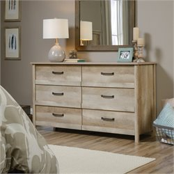 Pemberly Row 6 Drawer Dresser in Lintel Oak