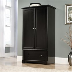 Pemberly Row Armoire in Wind Oak