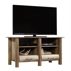 Pemberly Row TV Stand in Craftsman Oak