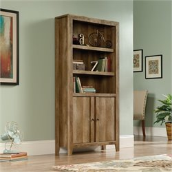 Pemberly Row 3 Shelf Bookcase in Craftsman Oak
