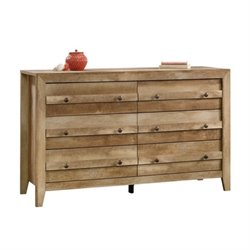 Pemberly Row 6 Drawer Dresser in Craftsman Oak