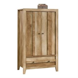 Pemberly Row Armoire in Craftsman Oak