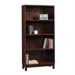 Pemberly Row 4 Shelf Bookcase in Cherry