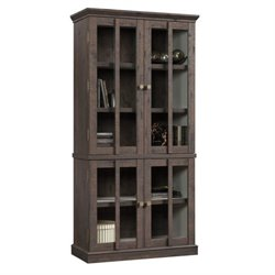 Pemberly Row Storage Cabinet in Coffee Oak