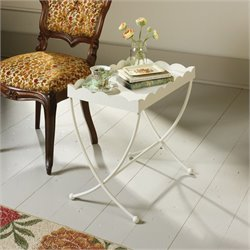 Pemberly Row End Table in Cream
