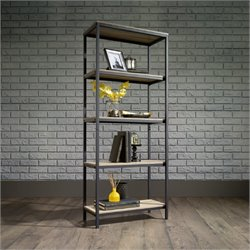 Pemberly Row Bookcase in Charter Oak