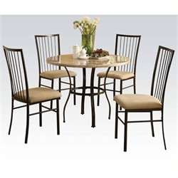 Pemberly Row 5 Piece Pack Dining Set