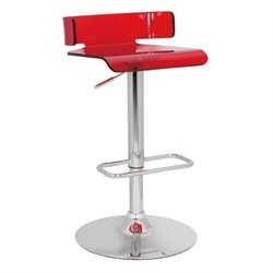 Pemberly Row Swivel Adjustable Bar Stool