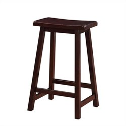 MER-991 Pemberly Row Stool in Dark Brown