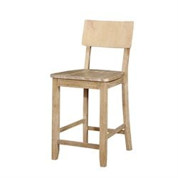 MER-991 Linon Jordan Bar Stool in Natural