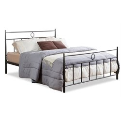 MER-992 Metal Spindle Bed in Dark Bronze 4