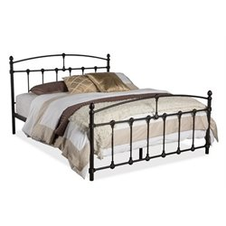 MER-992 Metal Spindle Bed in Dark Bronze 2