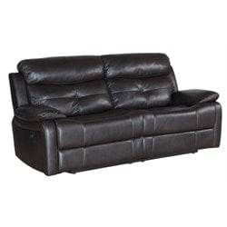Pemberly Row Power Reclining Sofa in Brown