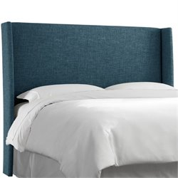 MER-1396 Upholstered Panel Headboard in Navy 5