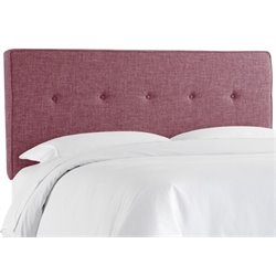 MER-1396 Upholstered Panel Headboard in Amethyst