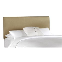 MER-1396 Upholstered Panel Headboard in Sandstone