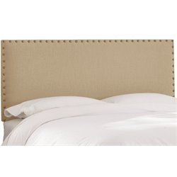 MER-1396 Upholstered Panel Headboard in Beige