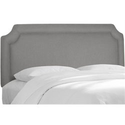 MER-1396 Upholstered Panel Headboard in Gray 3