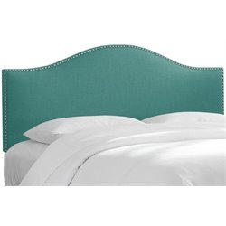 MER-1396 Upholstered Panel Headboard in Laguna 1