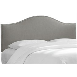 MER-1396 Upholstered Panel Headboard in Gray 5
