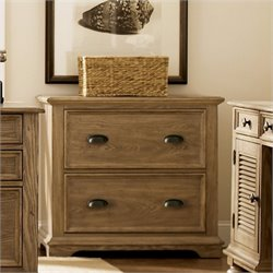 Beaumont Lane Lateral File Cabinet in Weathered Driftwood