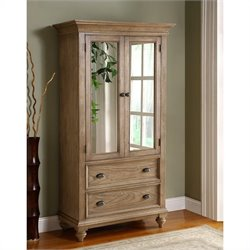 Beaumont Lane Armoire in Driftwood