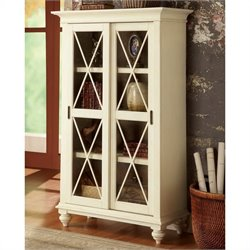 Beaumont Lane Two Tone Bookcase in Dover White